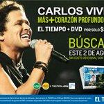 ¡Mañana con @ELTIEMPO! No te quedes sin el tuyo. @carlosvives http://t.co/1S9iRiHv5c http://t.co/1GtJgU4aNB