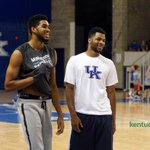 Our photo gallery from John Calipari's Pro Camp includes Karl-Anthony Towns & Andrew Harrison: http://t.co/gN3cC5ZKiR http://t.co/KzItOF3NNp