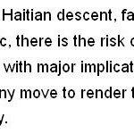 Primera Ministra de Jamaica dice no quiere haitianos en su pais http://t.co/mn85atErX3 @Viniciodiputado @pelegrinc http://t.co/4S77vaIIoq