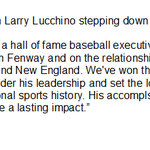 Henry on Larry Lucchino stepping down at end of 2015 as Pres/CEO of #RedSox http://t.co/odaQECFnsS #wbz