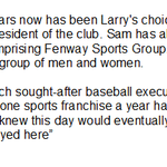 Henry on Sam Kennedy, who will replace Larry Lucchino as #RedSox President http://t.co/CKfyu7oLTB #wbz