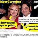 @FredysSocarrasR jjajajajaa se habla con $$$$$$$ 1.400 millones para @nataliaspringer mucho robo al pueblo Valledupar http://t.co/OuuMI7Ny1C