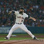 And @kidkeuchy has now gone at least 6 innings in 33 straight starts, a new #Astros record. #GoBeardOrGoHome http://t.co/uLEyybuaq9