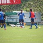 新外国人選手のマイアが今日から練習に合流してます http://t.co/3IH50mavwT