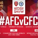 "Siap !!! RT @OfficialAFC_ID: Matchday hari ini! Siapkah anda untuk #CommunityShield? http://t.co/R7brGbFR9W #AFCvCFC http://t.co/rcgpFVYEGm"""