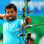 विश्व तीरंदाज़ी चैम्पियनशिप: रजत चौहान ने रजत पदक जीत कर चैम्पियनशिप में भारत को पहला व्यक्तिगत पदक दिलाया है http://t.co/Jj5BYDYt1W