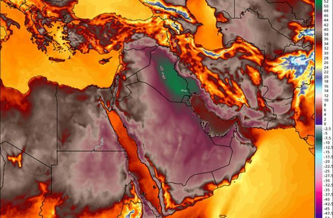 """イラン南西部の港湾都市バンダルマズハーで気温73℃!を記録。 """"@AlBawabaEnglish: What does 73° C feel like? Ask an Iranian http://t.co/FbxXtG9poN http://t.co/z9nANTwnqB"""""""