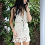 Elegantcrochets : Crochet dress, Offwhite crochet halter Dress, summer dress, b… … http://t.co/7lVykhbf3u http://t.co/hdBFK2kbY7