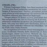 Selamatkan kawasan karst Citatah @aheryawan @seputarKBB @infobandung @infocianjur @pikiran_rakyat @PRFMnews http://t.co/n91ehFtvCs