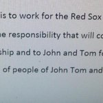 Sam Kennedys thoughts on taking over as #RedSox President for Larry Lucchino at the end of 2015 - #wbz http://t.co/l4IDvjKplr