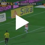 [Vídeo] Así fue el taconazo de Wilson Morelo para el gol de Santa Fe ante Alianza Petrolera: http://t.co/8mU8aV9KNI http://t.co/wuYRsbymUu