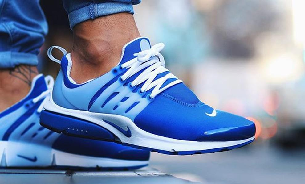 """On foot look at the upcoming Nike Air Presto OG """"Island Blue"""". Will these be a cop or pass? http://t.co/k1ghMppNF2"""