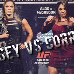 The time is now. Ronda Rousey vs Bethe Correia for the UFC Womens Bantamweight Championship. http://t.co/yA81XbXvNl