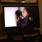 Been waiting all night for this! @RondaRousey @ufc #UFC190 #HereWeGo http://t.co/DCMx43DK8I