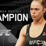 .@RondaRousey needs just 34 seconds to knock out Bethe Correia. Her last 4 fights have lasted 130 seconds total. http://t.co/woZLGlDBtl