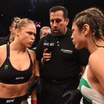 "Ronda Rousey said after her 1st round knockout victory over Bethe Correia, ""I hope no one brings up my family again."" http://t.co/FJk2FgBNYL"