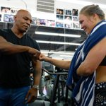 Mike Tyson said, he sees himself in Ronda Rousey. Nearly 30 years ago, he also improved to 12-0 w/ KO in 1st round. http://t.co/YZCdcQ4mHc