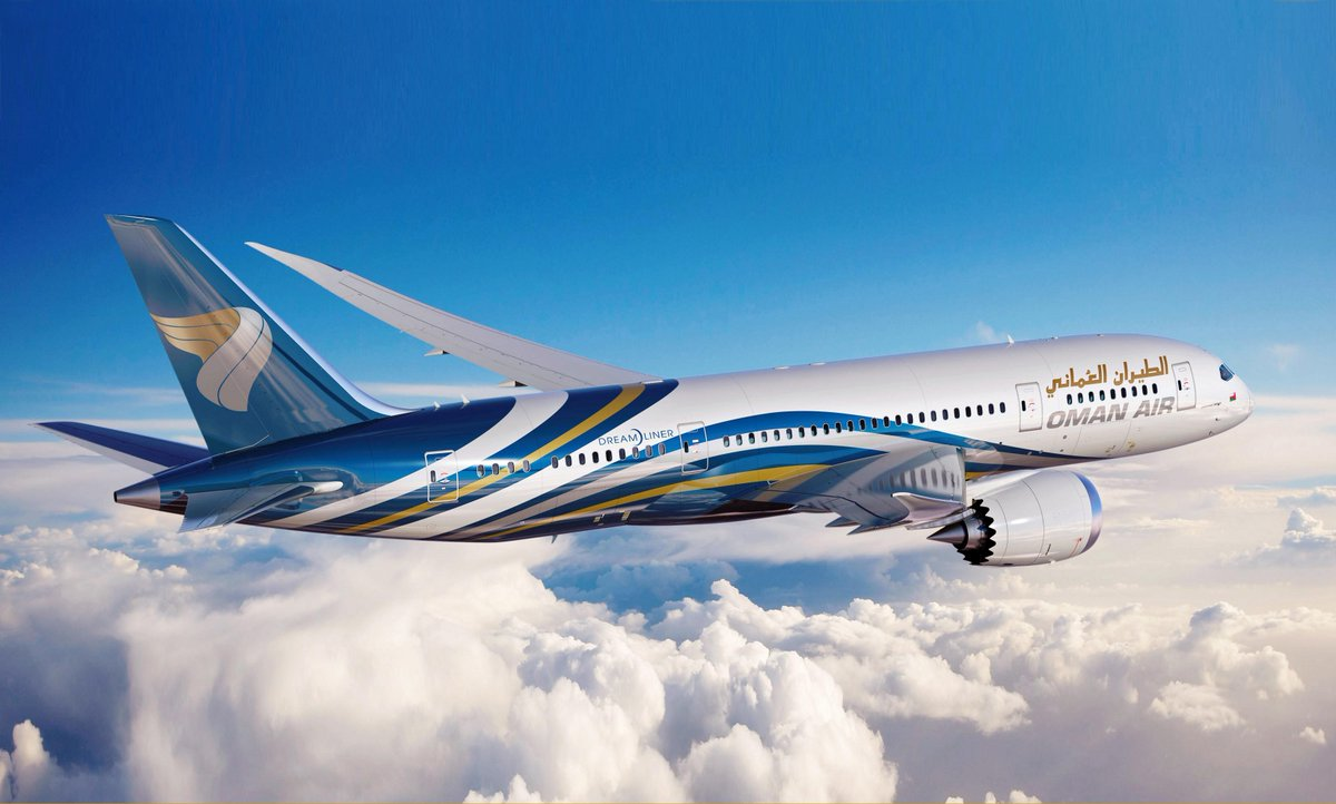 Dreamliner introduces state of the art design and a smoother flight like never before! Coming soon to Oman Air http://t.co/NPrdJXMTLo