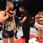 "After her victory, Ronda Rousey is emotional as she dedicated this fight to the late ""Rowdy"" Roddy Piper. http://t.co/C9IOgjnXWS"