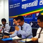 #GenElecSL http://t.co/hCW0tHbIpD RT charith9: #Lka I participated to #UPFA press conference. Raised the importa… http://t.co/SrMjkRfxZy