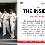 Leadership by example, by seduction, by delegation..& much more. A chapter on captaincy in #TheInsider @ESPNcricinfo http://t.co/sD6DShIo94