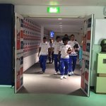 The Blues have arrived at Wembley... #CommunityShield http://t.co/Kw7NOhRDYX