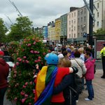 Getting ready for kick off of @corkpride parade #corkpride10 (@ Grand Parade Boardwalk) https://t.co/87kr6HNj0P http://t.co/3VM1YrRB3H