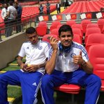 So just a watching brief for @diegocosta today... #CommunityShield http://t.co/3oPYC7qGzv