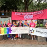 Delighted to be marching with @UCCSU and @UCCLGBT in @corkpride today! #corkpride10 #PrideInEveryStudent http://t.co/HFiP2O5Xy2