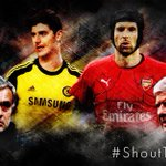 Which keeper would you rather have in your side? RT – Courtois FAV – Cech #ShoutTheLoudest http://t.co/L2PWHRZlCK