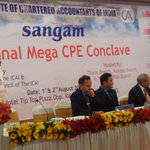 RT @AShetty84: Dr @Swamy39 @ Institute of CAs of India Regional Mega CPE Conclave @Thane near Mumbai today  @vhsindia @jagdishshetty http:/…
