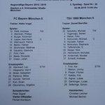 #Derby@FCBayern vs @TSV1860 mit Andermatt jun bei den Löwen.  http://t.co/52gh4VJbGj