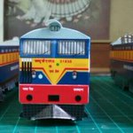 Model replicas of dual-current electric locomotives running around #Mumbai #railway by Subhash Rao. http://t.co/wFJoci94MC