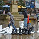 Rain doesnt stop Prestonians enjoying Giant Games #Preston @BIDPreston @prestoncouncil https://t.co/4yZCQTR6iL http://t.co/2a7GBOgoZN