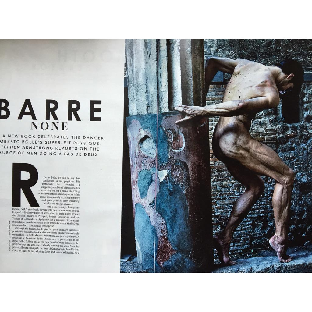 I hope all @RobertoBolle fans know about his new #book #ballet http://t.co/ppMlpAQAB9