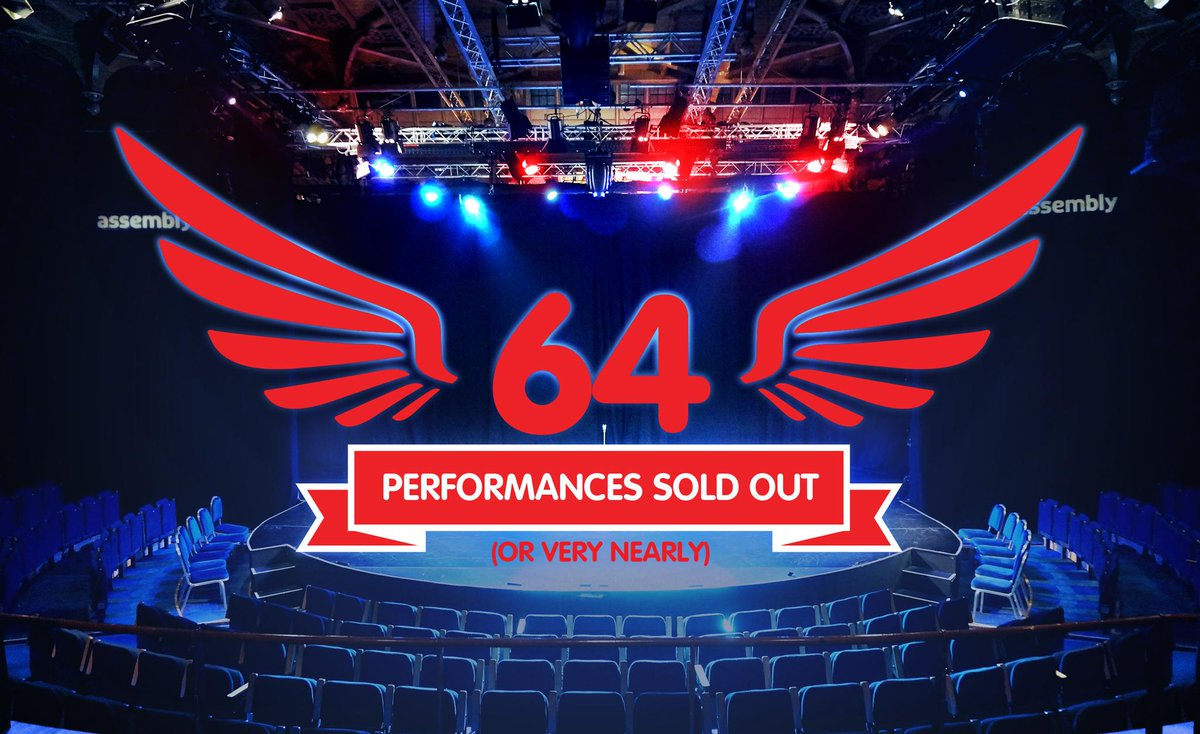64 performances have (or have almost) SOLD OUT. Grab those early weekend bargains! #AssemblyFest #edfringe #WTFringe http://t.co/AFiXdAALme
