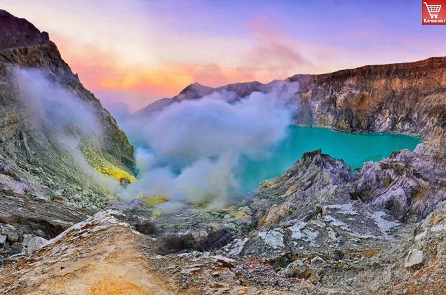 Indahnya Fenomena Alam Si Api Biru Kawah Ijen Banyuwangi - AnekaNews.net