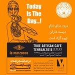 True Artisan Cafe in Tehran همایش لامارزاکو و مسابقه آزاد لته آرت http://t.co/haUBNnaTui