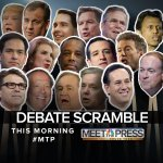 This morning on the show, well have the man in the middle of the GOP debate scramble: @realDonaldTrump. http://t.co/Xz9uakgKG8