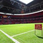 Weve arrived at Wembley for #AFCvCFC... http://t.co/5717Ytp2V5