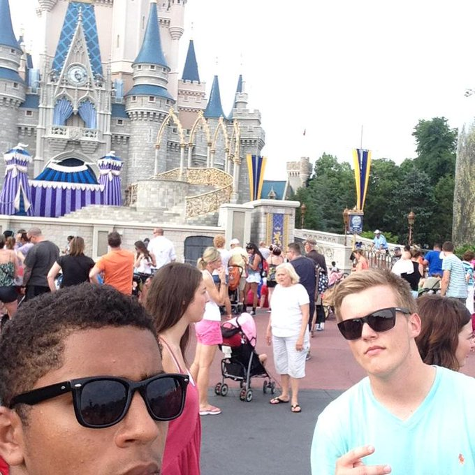 Happy birthday Even though you ruined my Harry Potter world experience, pure still a homie. Love you
