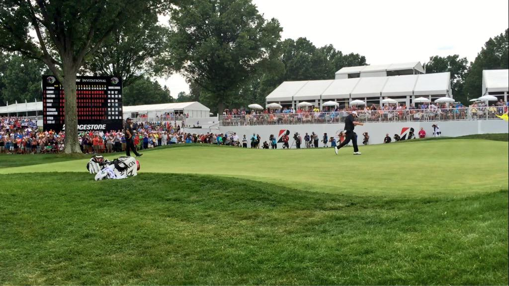Congratulations to @ShaneLowryGolf! The 2015 WGC-Bridgestone Invitational champion! #BridgestoneInv http://t.co/3PbWSlkmot
