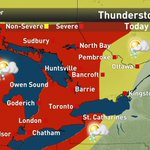 The storms that sparked the watches and warnings in Ontario so far are potentially powerful. Keep safe. #onstorm http://t.co/u0KIDqRFQ6