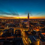Golden #Brumset from the top of the old Natwest Tower @103ColmoreRow Great new perspective! #Birmingham #Viewfrom103 http://t.co/Ws55MvzTHA