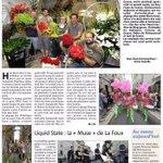 Hier soir à Grasse, le traditionnel défilé fleuri de la Fête du Jasmin. Encore un très beau succès !! Via @Nice_Matin http://t.co/ICe2c9D1gM