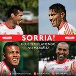 Sorria! Hoje tem Flamengo no Maraca lotado. http://t.co/aASX4mCrcU