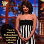 RT @ColorsTV: Catch @priyankachopra talk about her character Mary Kom tonight on #TheAnupamKherShow!   Tune in at 8PM! @AnupamPkher