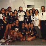 HOY hace 19 Años!!! MEDALLA ORO Conjunto Español d Gimnasia Rítmica en OLIMPIADA ATLANTA96 @RFEGimnasia #Recuerdos http://t.co/2Fqj8xQt5m