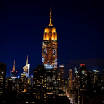 Photos: Endangered animals shine on the Empire State Building in a first-of-its-kind display http://t.co/7KzjfH0JRC http://t.co/rpP90kN1UL