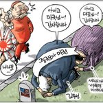 광복 70주년 친일독재의 후예 박근혜 새누리당 정권이 통치하는 나라꼴이 엉망진창이다… (경향 김용민 화백) http://t.co/h2SEhNGMCD
